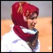 Razan al-Najarr ykilled on June 1 by an Israeli sniper.